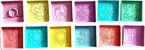 DivyaKala/ Plastic Powder Rangoli Stencil/ Home
