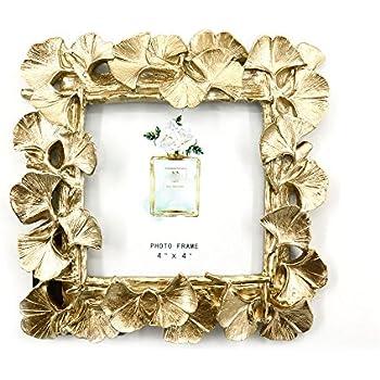 Amazon.com - Mojju Golden Ginkgo Leaf Photo Frame Retro Picture ...