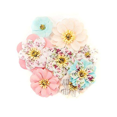Prima Marketing Floral Embellishments - Prima Marketing Inc. 634575 Misty Rose Flowers, Multicolor