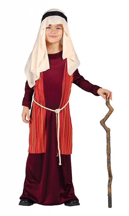 9d973b35efa45 Costume pastorello arabo rosso giudeo Presepe vivente bambino 3-4 anni