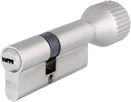 Fac - Cilindro 70 mm. p niquel sat. 30x40 15 c/pomo caja: Amazon.es: Bricolaje y herramientas
