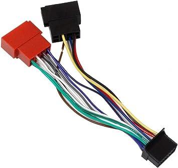 AERZETIX: Cable adaptador enchufe ISO G6 para radio de coche C2056