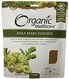 Organic Traditions Organic Powder, Amla, 7 Ounce (Pack of 12)