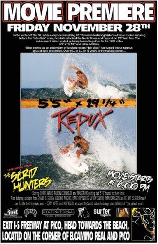 Amazon.com: Lost Enterprises Present: 55 x 19.25 REDUX Surfing DVD Film: Sports & Outdoors