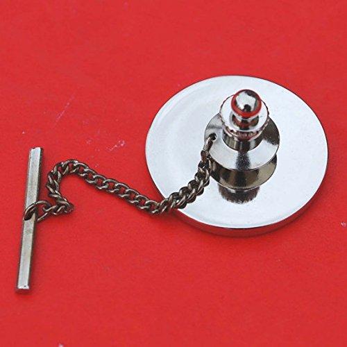 New Irish Ireland 6 Pence Wolfhound Greyhound Dog Coin Silver Plated Tie Tack
