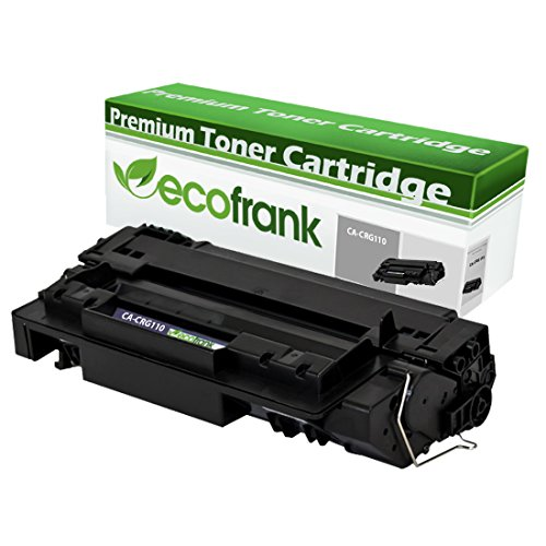 (EcoFrank Compatible Toner Cartridge Replacement for Canon CRG-110 0985B004AA (Black, 1-Pack))