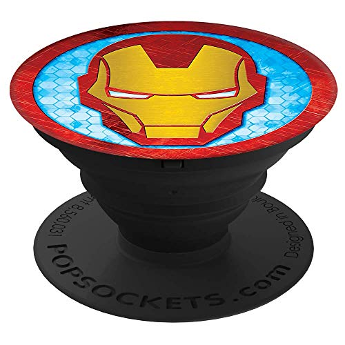 PopSockets: Collapsible Grip & Stand for Phones and Tablets - Iron Man Icon