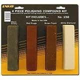 Enkay 150 Carded Polishing Compound Kit, 4-Piece
