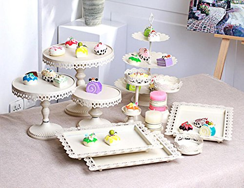 12 PCS Wedding Decoration Dessert Tray Cake Stand Holder Cupcake Pan Party#021300