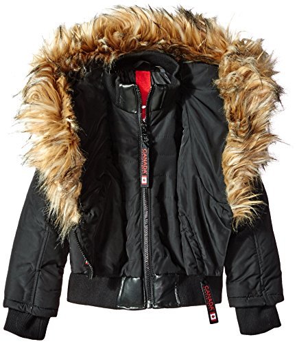 Available Black 4 Canada Weather Jacket Jacket Styles Outerwear More Gear O2CW050H Girls nUp8n