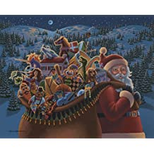 Jigsaw Puzzle - Christmas Delivery 500 Pc By Dowdle Folk Art