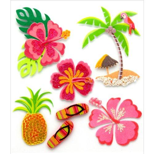 - Jolees Boutique Dimensional Stickers, Hawaiian