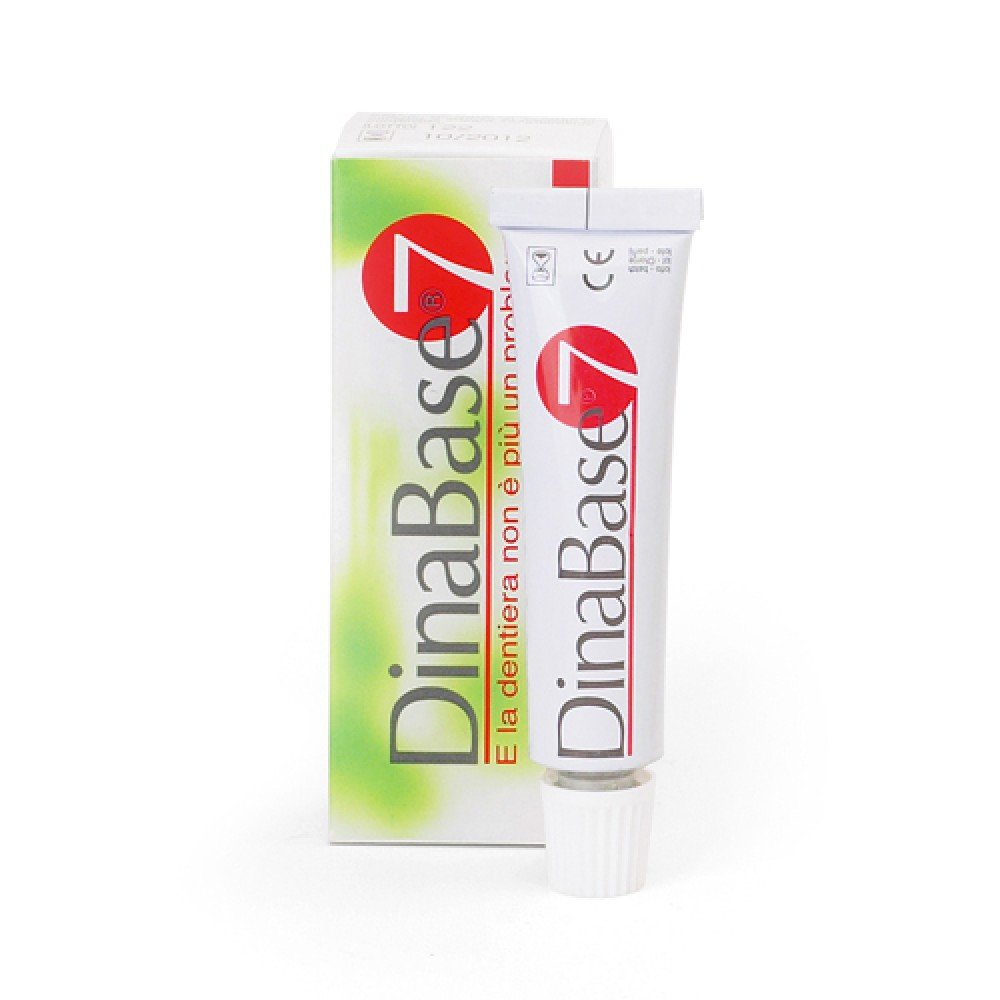 Dinabase 7 Gel Adhesive rebasing dentures