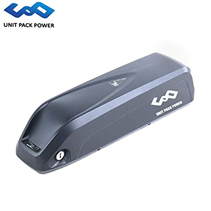 UnitPackPower 52V 13 6AH / 14AH Electric Bike Lithium ion Shark Battery  with BMS+Charger for Bafang 48V 750W 1000W E-Bike Motor