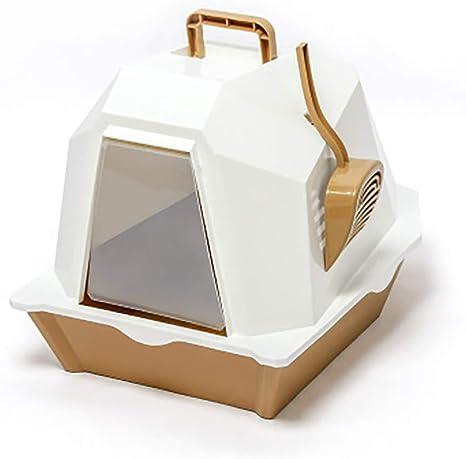 Caja de arena para gatos con tapa, caja de arena para gatos grande ...