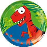 Trudeau Dinosaurs Nordic Plate