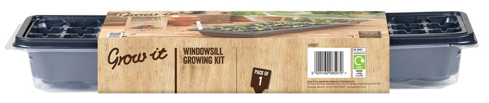 Gardman Grow It 08597 Windowsill Growing Kit