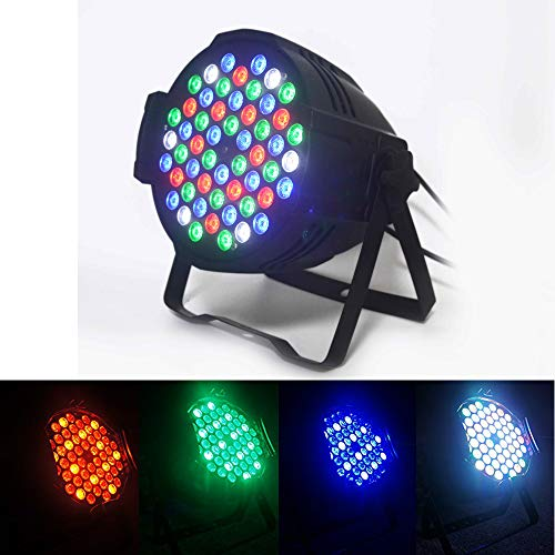 Boulder LED par can 54x3w RGBW LED Par Light,162watt RGBW PAR 64 DMX512 Stage Party Show, For Disco, Ballroom, KTV, Bar,Club, Party, Wedding ...