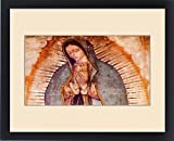 Framed Print of Original Virgin Mary Guadalupe Painting which was revealed by Indian Peasant
