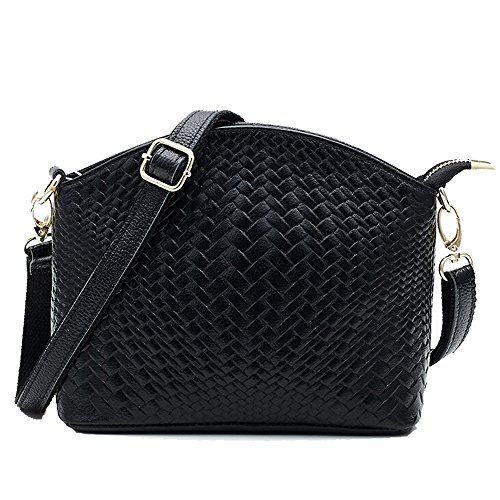 Woven Leather Handbags - 5