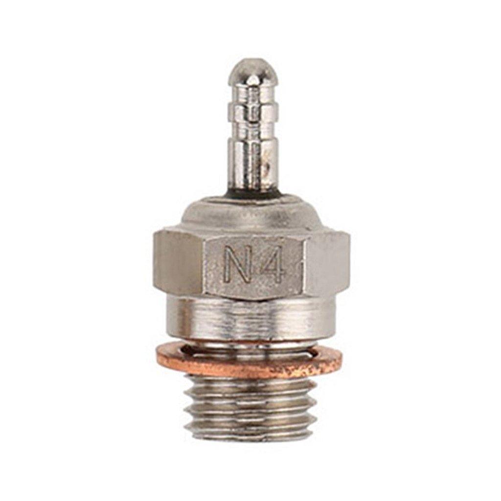 Acciaio Universale 70117 N4 Candela Glow Plug Per 1//10 HPI HSP RC Auto