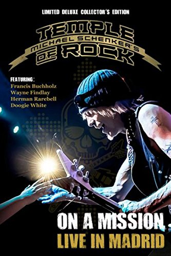 (Michael Schenker's Temple Of Rock - On A Mission: Live In Madrid Ltd Deluxe Edition (2cd + 2db) [Blu-ray])