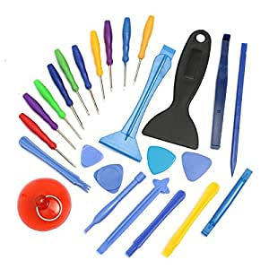 Apple Accessories - 25pcs Professional Universal Disassemble Tools Set For Ipad Nds Psp - Disassemble Tools Set Phone Tool Repair Screen Laptop Torx Screwdriver Cell - Kit 6s