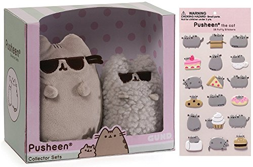 Gund Sunglasses Pusheen Collectible Set 8.5