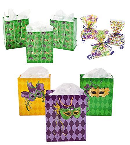 Fun Express Mardi Gras Gift Bag Bundle |