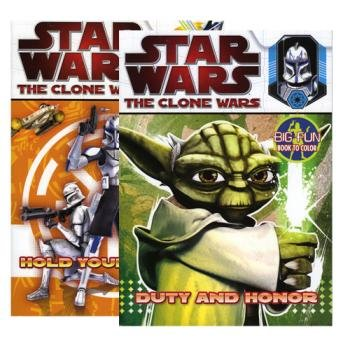 Star Wars The Clone Wars Coloring Book (Multiple Cover Art)
