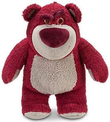 """Disney Store Toy Story LOTSO Bear STRAWBERRY SCENTED 8/"""" Plush NWT!"""