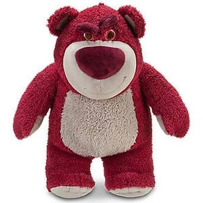 Disney Parks 13 Lotso Bear Plush Toy Strawberry Scented New With Tag