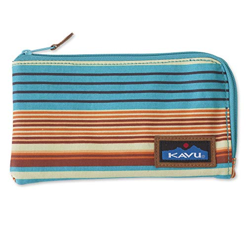 KAVU Cammi Clutch Wallet Organizer Womens Card Holder - Cascade Stripe