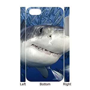 3D Bumper Plastic Case Of Shark customized case For Iphone 4/4s