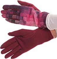 Sakkas Kade Pixel Ombre Multi Colored Patterned Warm Touch Screen Winter Gloves