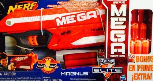 Nerf N Strike Elite Mega Magnus Blaster With 9 Darts
