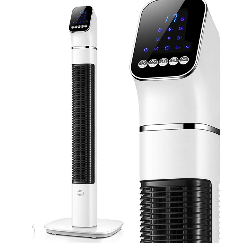 SAN_X Refrigeration and air conditioning fan Tower Fan With Remote Control Timing Bladeless Fan Portable Household Mute Electric Fan 60W