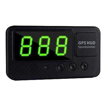 GSDCNV Velocímetro GPS para Coche, Universal con Pantalla ...