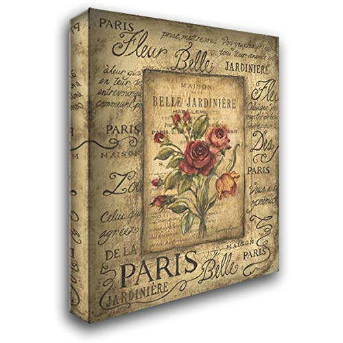 Bel Bouquet I 37x47 Extra Large Gallery Wrapped Stretched Canvas Art by Poloson, Kimberly