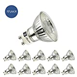 10 X Realm 5W GU10 LED super bright spotlight bulb 400lm Non Dimmable 50W Halogen Equivalen Cool White 6400K