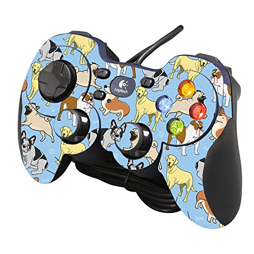 MightySkins Skin Compatible with Logitech Gamepad F310 Action Fish Puzzle Made in The USA Easy to Apply Durable and Change Styles Remove and Unique Vinyl Decal wrap Cover Protective