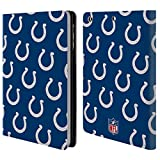 Official NFL Patterns 2017/18 Indianapolis Colts Leather Book Wallet Case Cover For Apple iPad mini 1 / 2 / 3