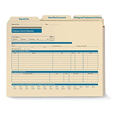 ComplyRight Employee Record Organizer Expandable