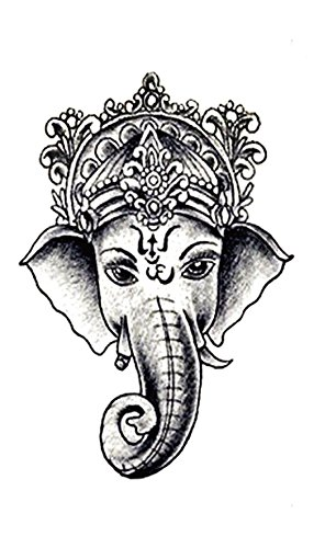 lucky elephant Ganesha temporary tattoo Wholesale for