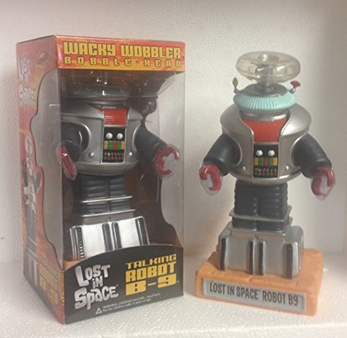 Funko LOST IN SPACE B-9 TALKING WOBBLER BOBBLEHEAD - RED COLLAR VERSION
