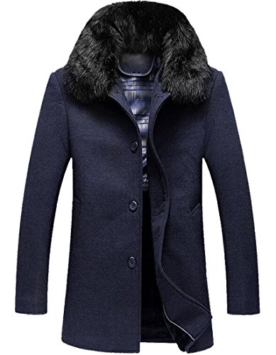 Quilted Wool Peacoat - 2