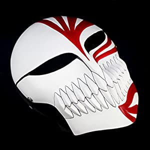 Cosplaywho venetian mardi super bleach ichigo hollow mask toys games - Ichigo vizard mask ...