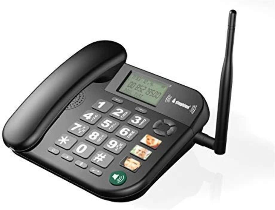 Steepletone SGSM1 - Teléfono gsm con botón Grande, Color Blanco: Amazon.es: Electrónica