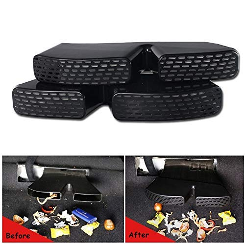 NGEXT-25-11 - 2Pcs Under Seat Rear A/C Heater Floor Air Conditioner Duct Grill Grille Car Air Outlet Cover For Hyundai Tucson 2016 2017 2018
