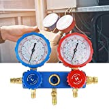 Air Conditioning Refrigerant Manifold Gauge Set with 1.5m Charging Hoses,R134a